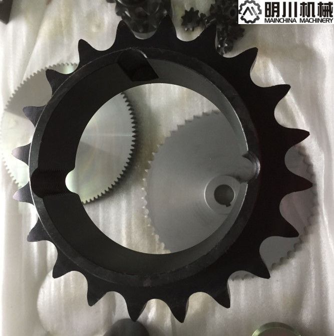American Standard Taper Bore Sprockets Black Color With 1610 Bushing 20 Tooth