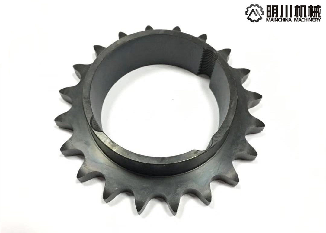 Standard OEM Taper Bore Sprockets Hard Teeth Heat Treatment Natural Color