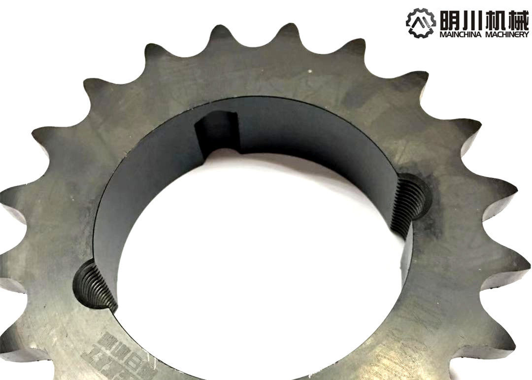 Industrial Customized Taper Bore Sprockets HT200 Material With Taper Lock